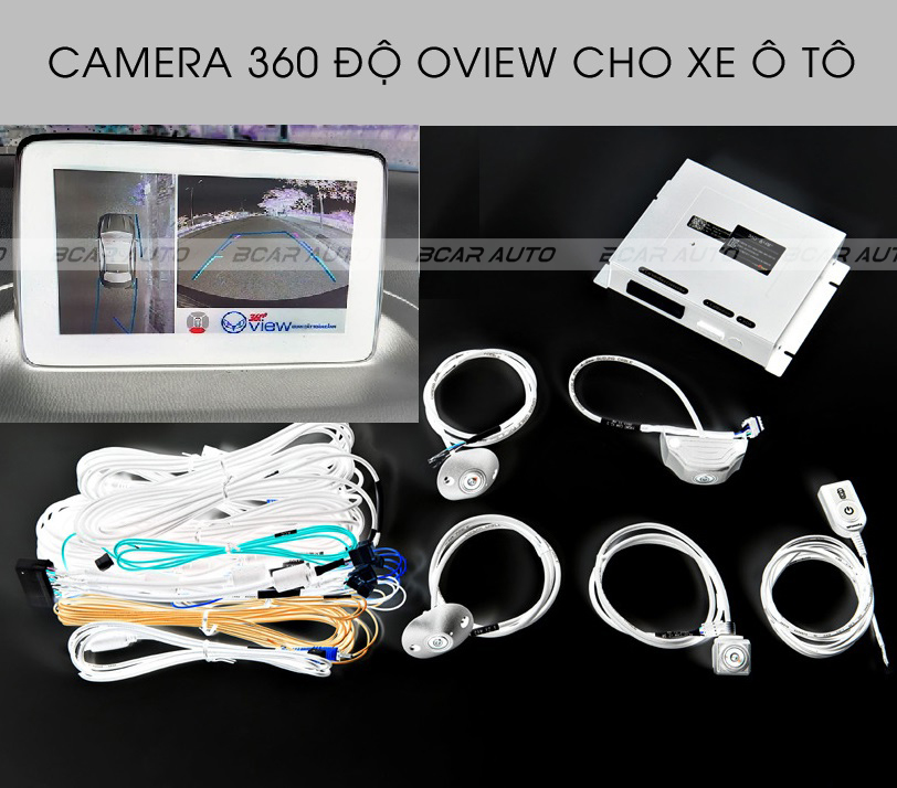 Camera 360 cho xe Ford Tourneo 2020 || Phụ Kiện Xe Ford Tourneo