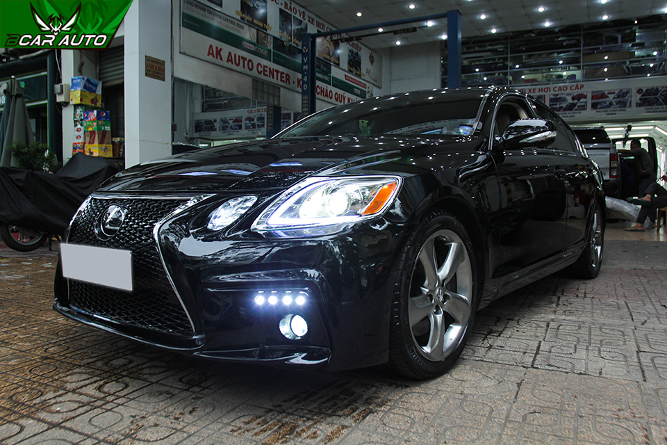 lắp body kit lexus gs 350