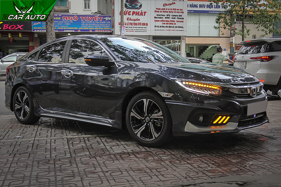 lắp body kit xe Honda Civic Ativus