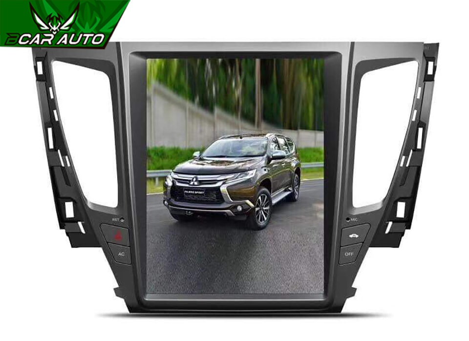 DVD Android cho xe Pajero Sport